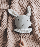 Liewood - Angela Music Mobile Rabbit Grey Melange