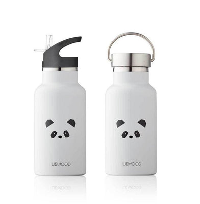 Liewood - Anker Water Bottle Panda Light Grey