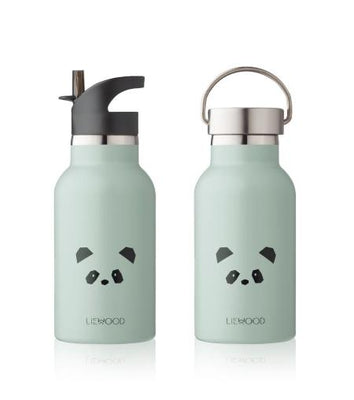Liewood - Anker Water Bottle Panda Dusty Mint