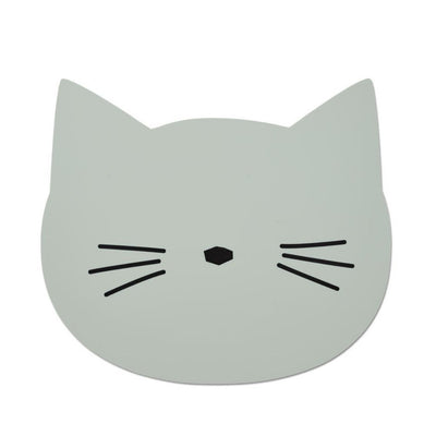 Liewood - Aura Placemat Cat Dusty Mint