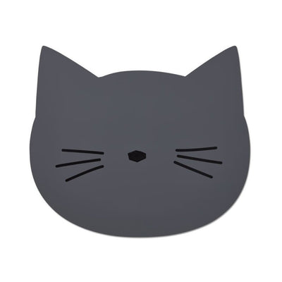 Liewood - Aura Placemat Cat Stone Grey