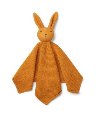 Liewood - Milo Knit Cuddle Cloth Rabbit Mustard