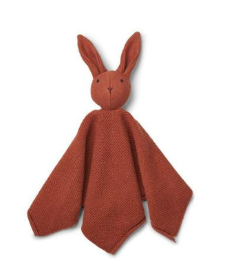 Liewood - Milo Knit Cuddle Cloth Rabbit Rusty