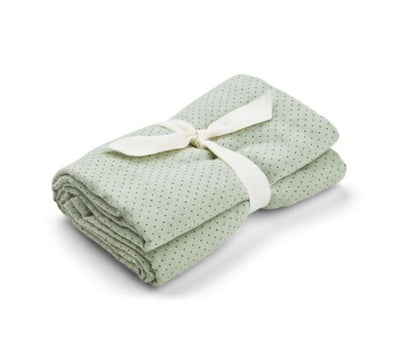 Liewood - Molly Swaddle Little Dot Dusty Mint