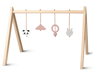 Liewood - Wood Playgym with Accessories Girl