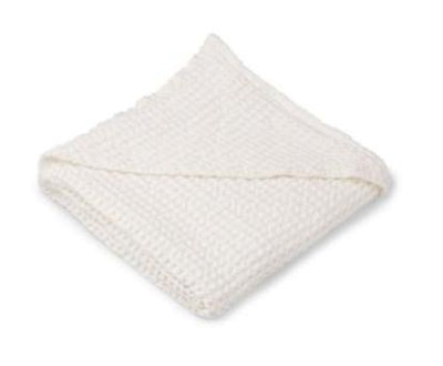 Liewood - Saga Hooded Towel Crisp White