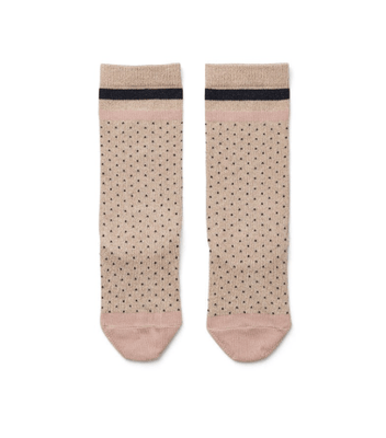 Liewood - Sofia Lurex Knee Socks Little Dot Gold