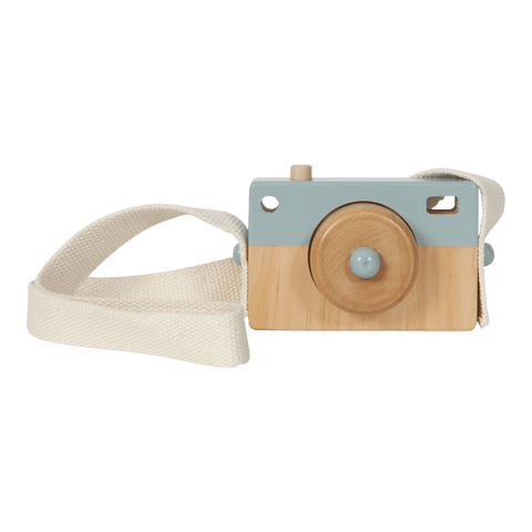 Little Dutch - Wooden Play Camera Adventure Blue