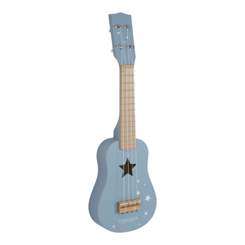 Little Dutch - Wooden Guitar Adventure Blue
