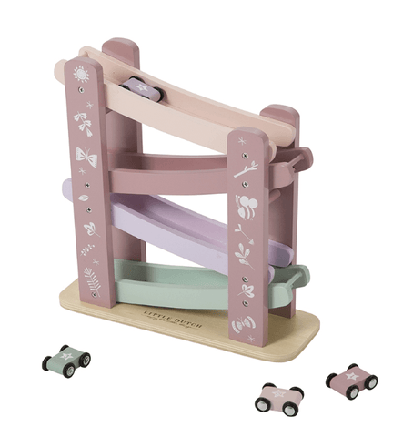 Little Dutch - Wooden Race Course Pink