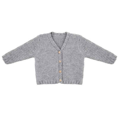 Little Indians - Knit Cardigan grey