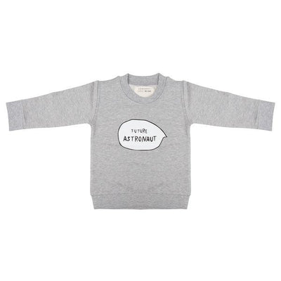 Little Indians - Sweater Future Astronaut Grey Melange