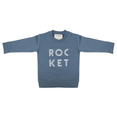 Little Indians - Sweater Rocket Blue