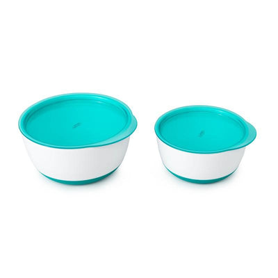 Oxo Tot - Small & Large Bowl Set Teal