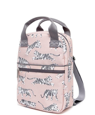 Petit Monkey - Backpack White Tigers