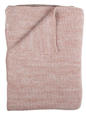 Plum Plum - Knitted Blanket Alice
