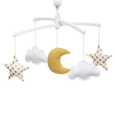 Pouce et Lina - Musical Mobile Gold Moon and Stars