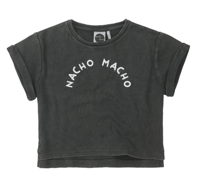 Sproet & Sprout - T-Shirt Black Nacho Macho