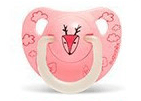 Suavinex - Pacifier Night & Day Anatomical 0-6 Months Deer Pink