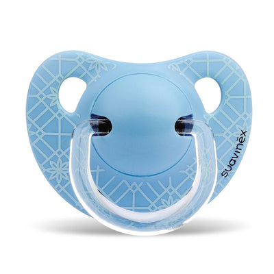 Suavinex - Pacifier Anatomical 0-6 Months Weave Blue