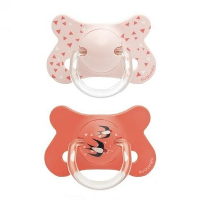 Suavinex - Pacifier Fusion Anatomical +18 Months Swallow Triangle 2Pack
