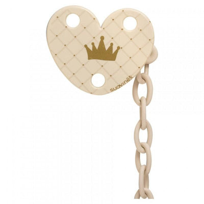 Suavinex - Pacifier Clip Creme Crown