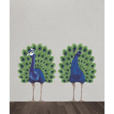 Wild & Soft - Wall Sticker Peacock