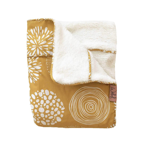 Witlof For Kids - Tuck-Inn Blanket Sparkle Sweet Honey