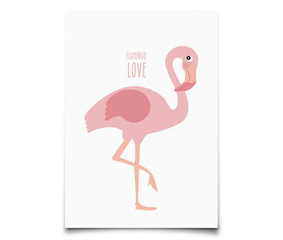 Eef Lillemor - Postcard Flamingo You Are So Loved