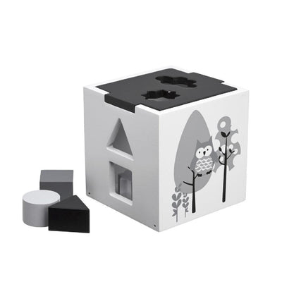 Kids Concept - Shape Sorter Black