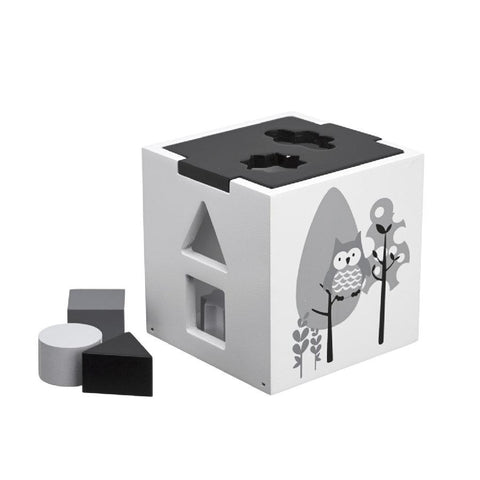 Kids Concept Shape Sorter Black