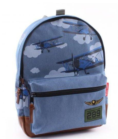 Kidzroom amigo backpack Blue little
