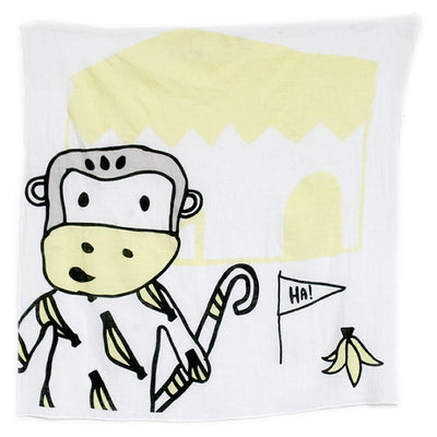 Kippins - Muslin Wrap Splits Monkey