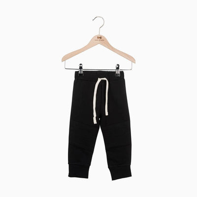 House of Jamie - Knee Patch Jogger Black