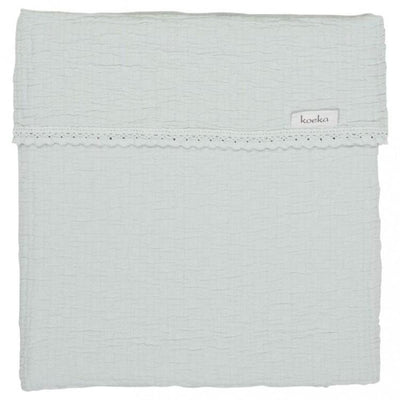 Koeka - Blanket Elba Lace Soft Mint