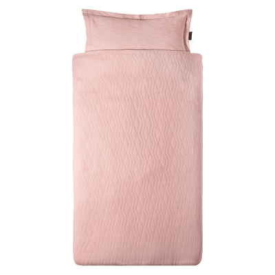 House Of Jamie - Duvet Cover Geometry Jacquard Powder Pink
