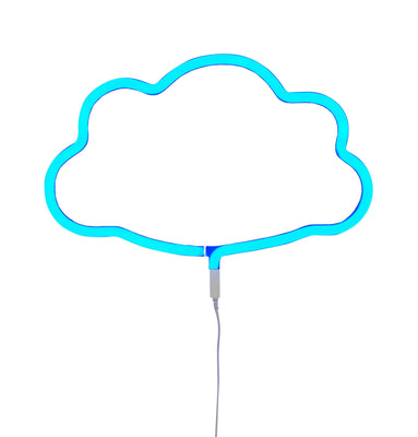 Little lovely Company - Neon style light Cloud Blue