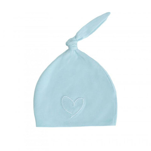 Effiki - Newborn Hat Bleu With Heart