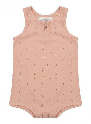 Little Indians - Romper Small Arrow Dusty Coral
