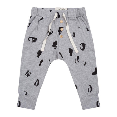 Little Indians - Pants Animal Grey Melange
