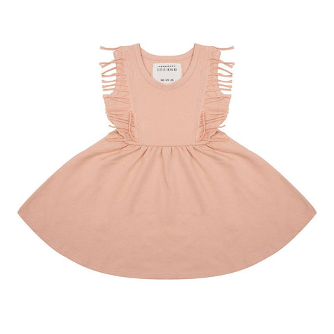 Little Indians - Dress Boho Dusty Coral