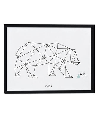 Lilipinso - Framed Poster Bear