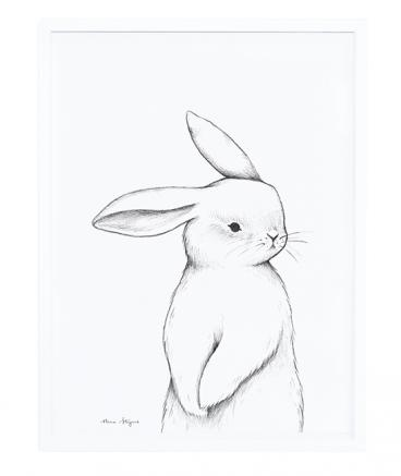 Lilipinso - Framed Poster Bunny