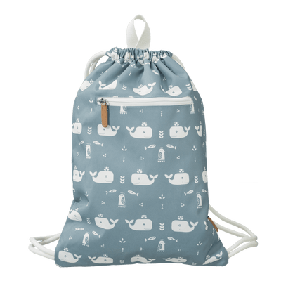 Fresk - Swimming Bag Whale Blue Fog