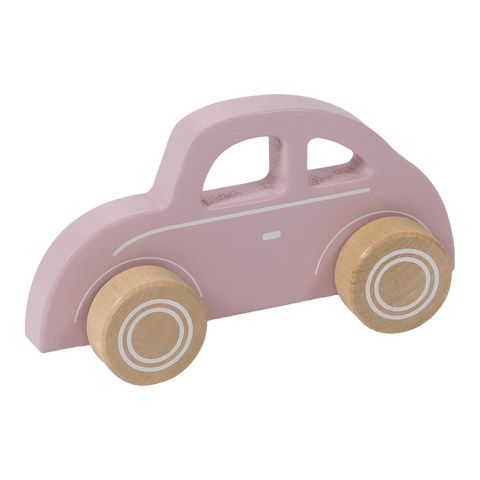 Little Dutch - Wooden Car Pink