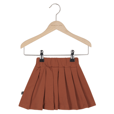 House Of Jamie - Pleated Skirt Rust