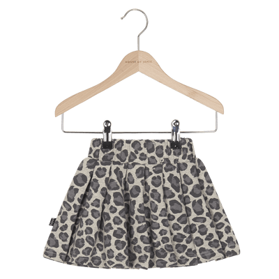 House Of Jamie - Pleated Skirt Rocky Leopard