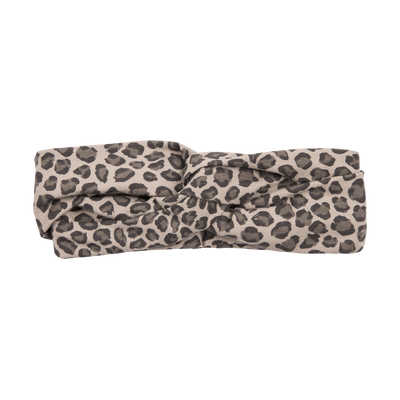 House Of Jamie - Turban Headband Caramel Leopard