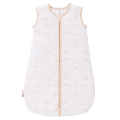 Fresk - Sleeping Bag Summer Muslin Swan Pale Peach