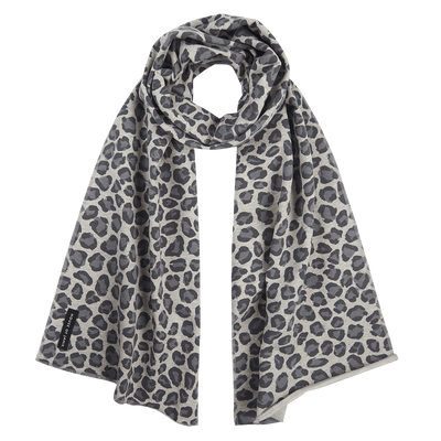 House Of Jamie - Long Scarf Rocky Leopard